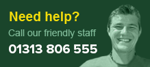 Need help? Call our friendly staff 01383 435 991